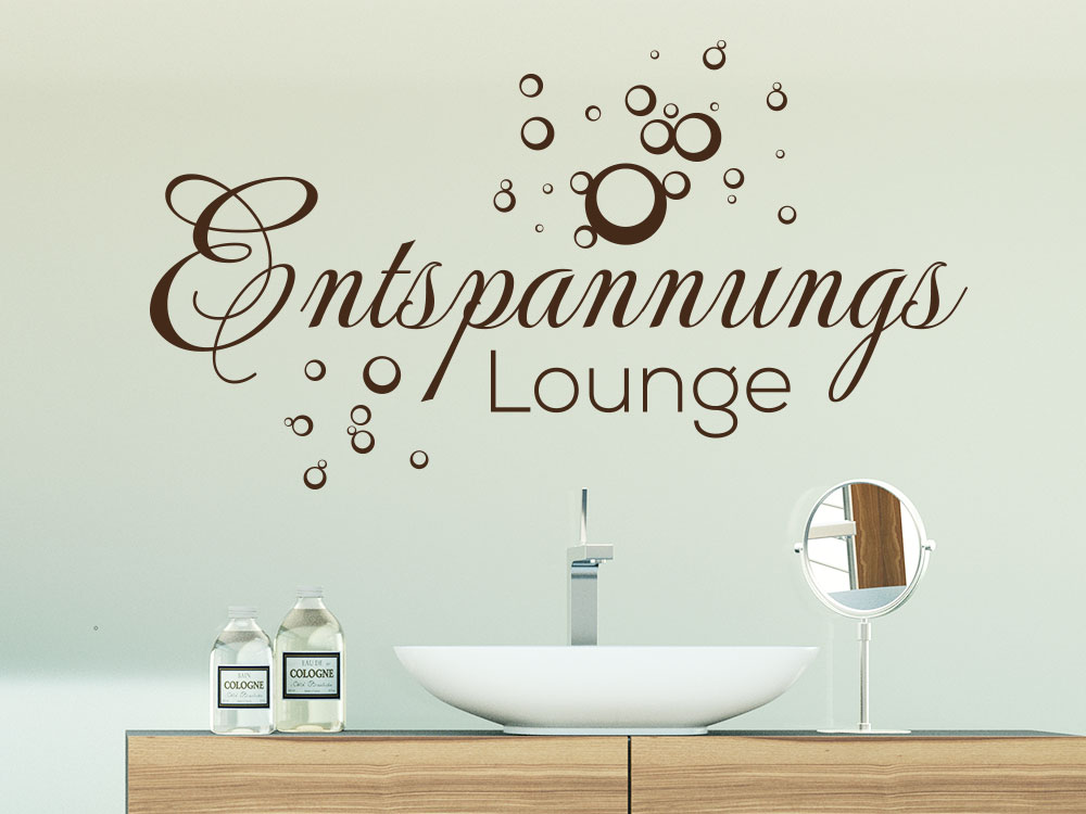 Wandtattoo Entspannungs Lounge