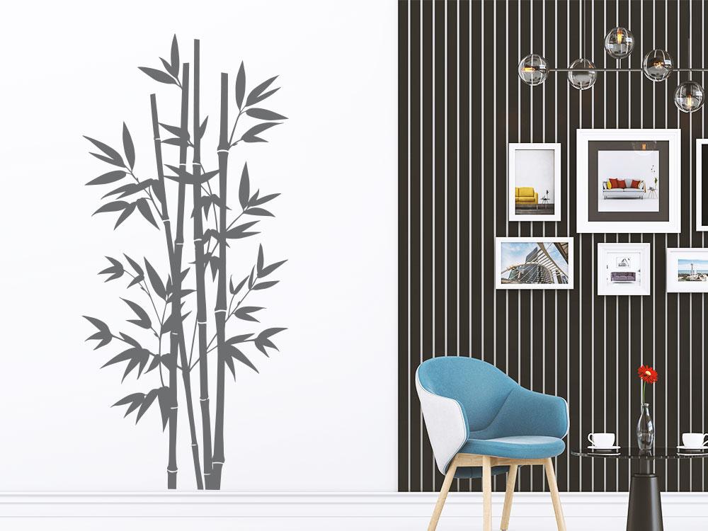 Wandtattoo Großer Bambus