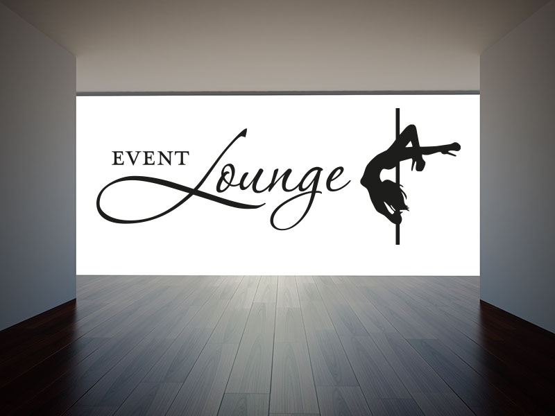 Wandtattoo Event Lounge No.1