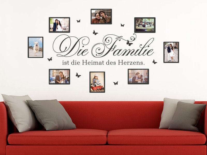 Wandtattoo Fotorahmen Fotorahmen Die Familie ist…