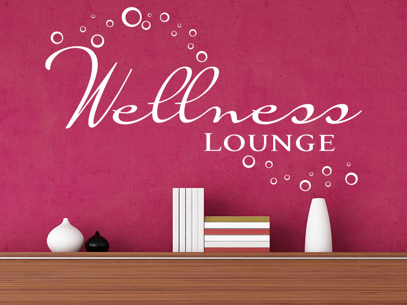Wandtattoo Wellness Lounge No.1