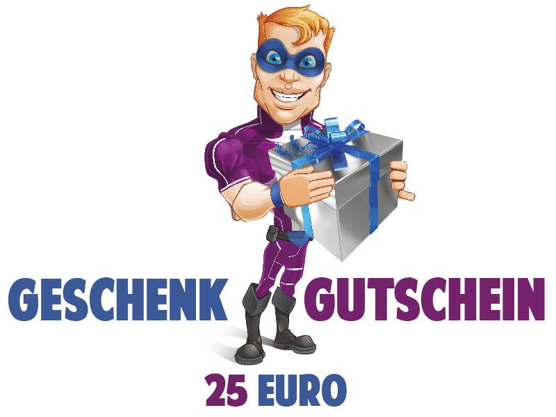 Wandtattoo Geschenkgutschein Wert 25 Euro