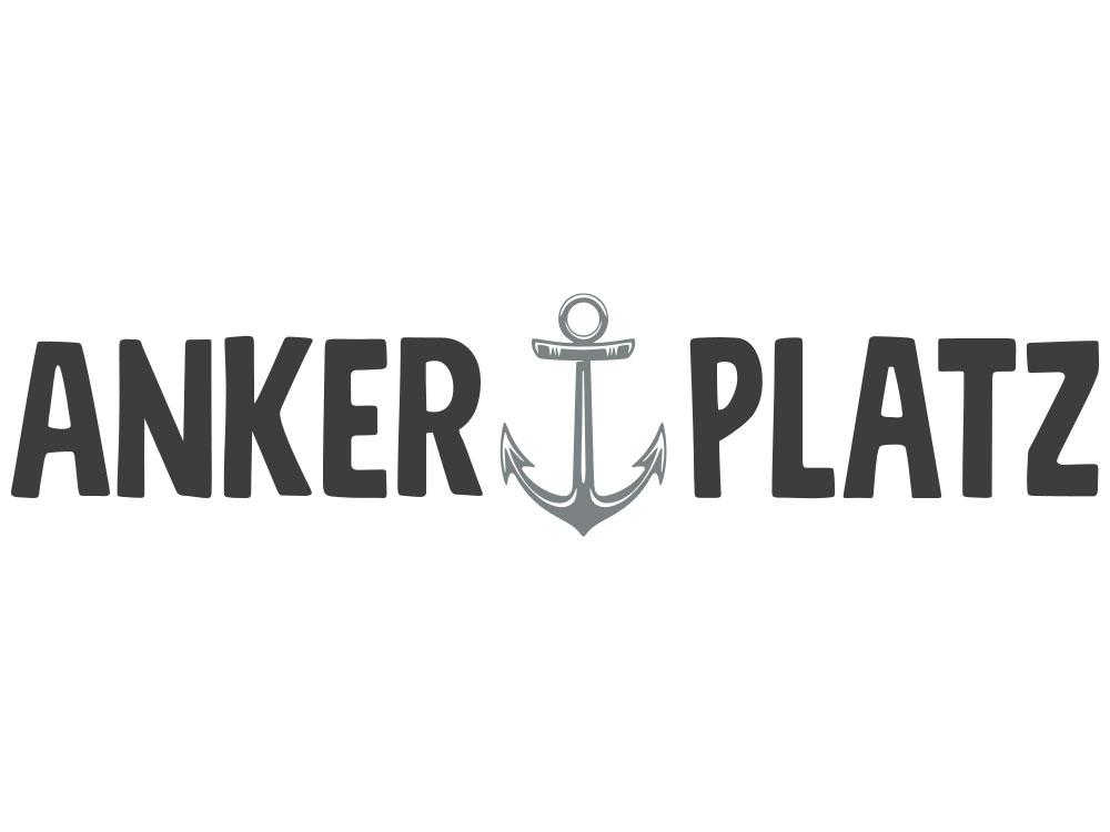 Wandtattoo Motiv Ankerplatz mit Anker - Gesamtansicht