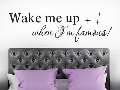 wandtattoo spr che und sprichw rter von klebeheld de. Black Bedroom Furniture Sets. Home Design Ideas