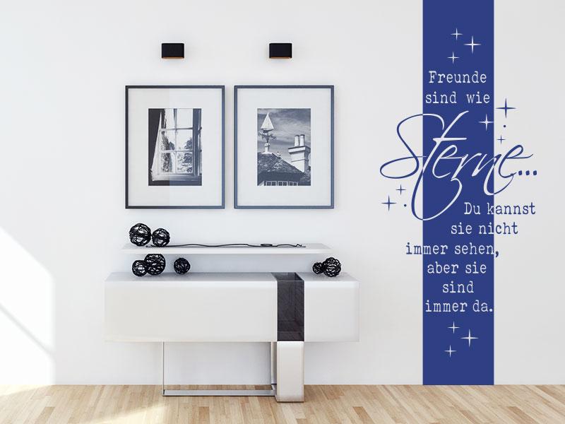 wandtattoo banner mit zitaten und spr chen bei klebeheld. Black Bedroom Furniture Sets. Home Design Ideas
