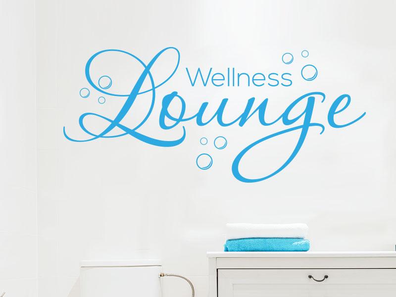 Wandtattoo wellness lounge von klebeheld - Wandtattoo wellness ...