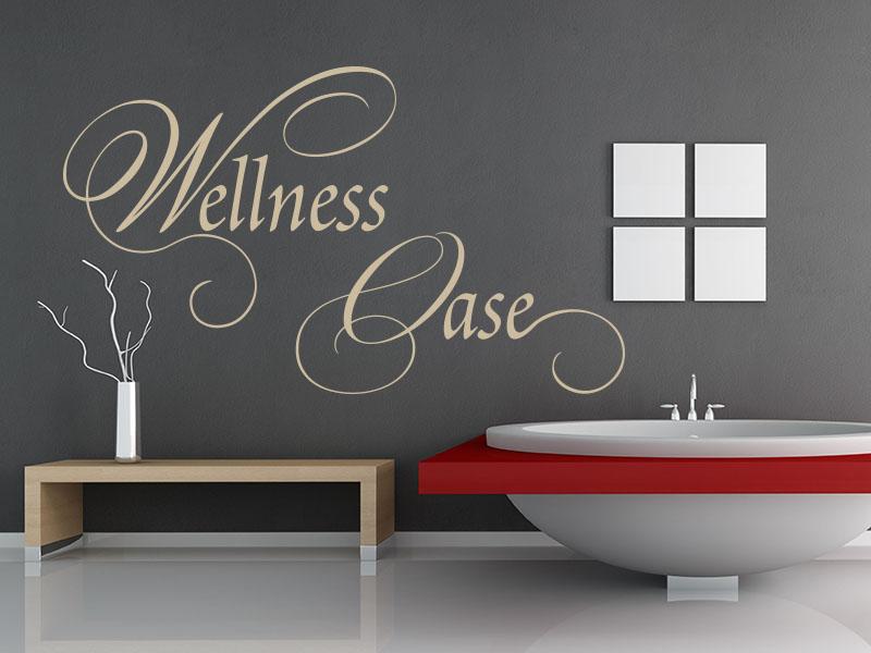 Wandtattoo Wellness Oase
