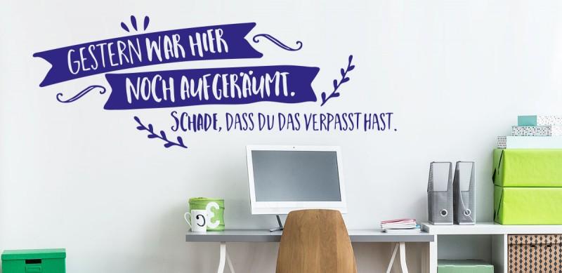 Wandtattoo Jugendzimmer - Coole Wandtattoos für Teenies