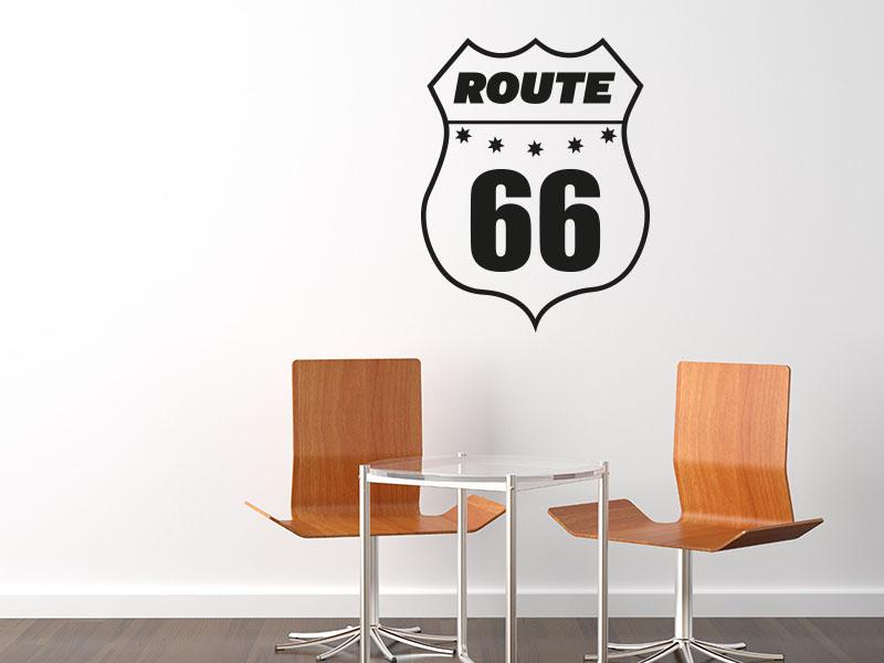 Wandtattoo Route 66