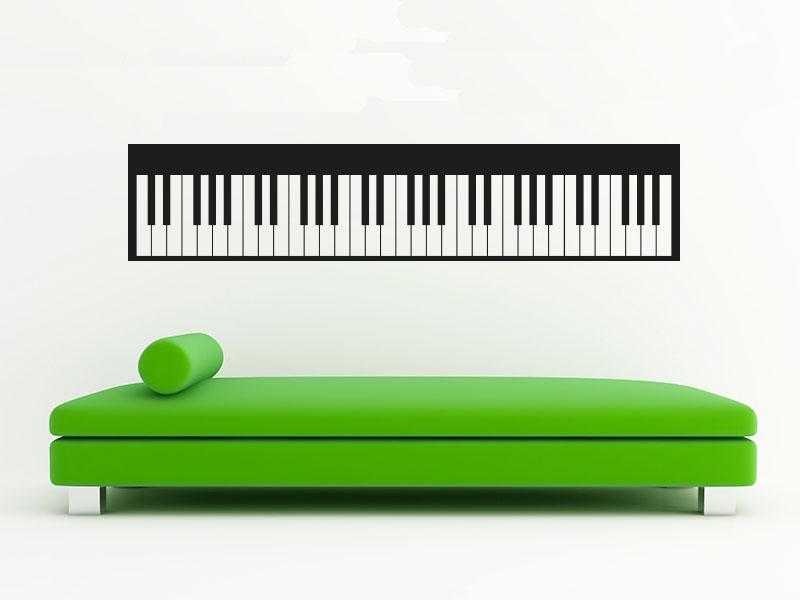 Wandtattoo Keyboard