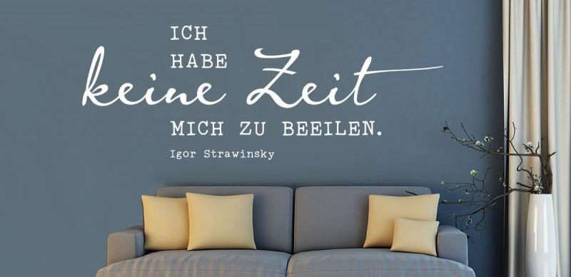 wandtattoo zitate zeit zeitlose wandtattoos bei klebeheld. Black Bedroom Furniture Sets. Home Design Ideas