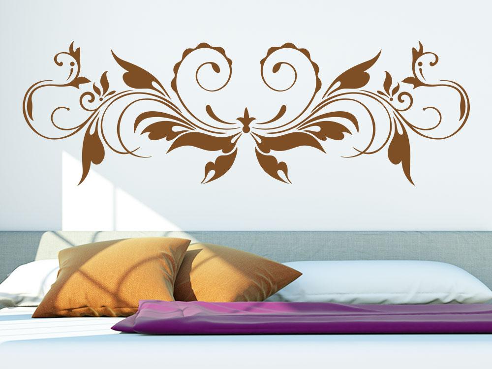 wandtattoo verspieltes ornament von klebeheld de. Black Bedroom Furniture Sets. Home Design Ideas