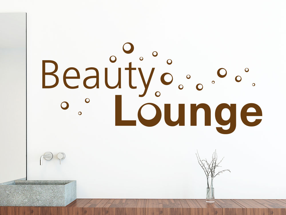 Wandtattoo Beauty Lounge