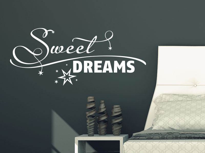 Wandtattoo Sweet Dreams No.5 von KLEBEHELD®