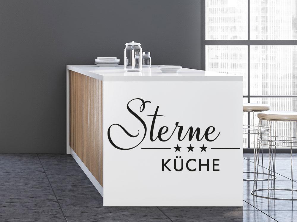 Wandtattoo Sterne Küche in der Küche