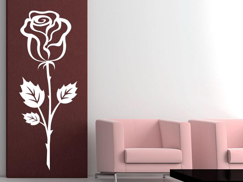 Wandtattoo Rose