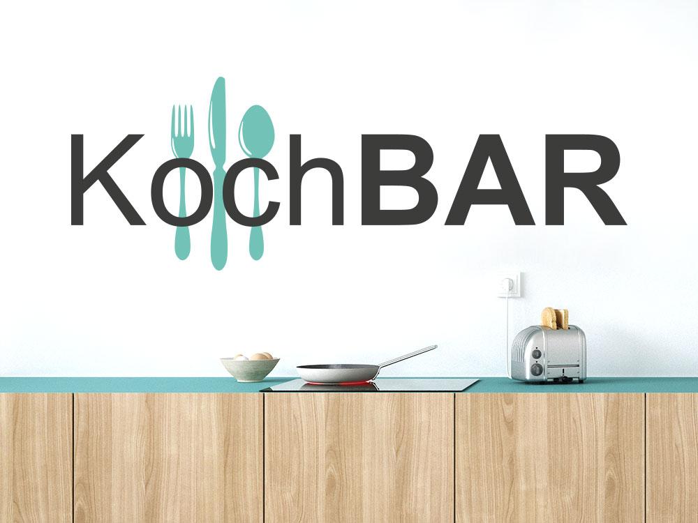 Wandtattoo Kochbar