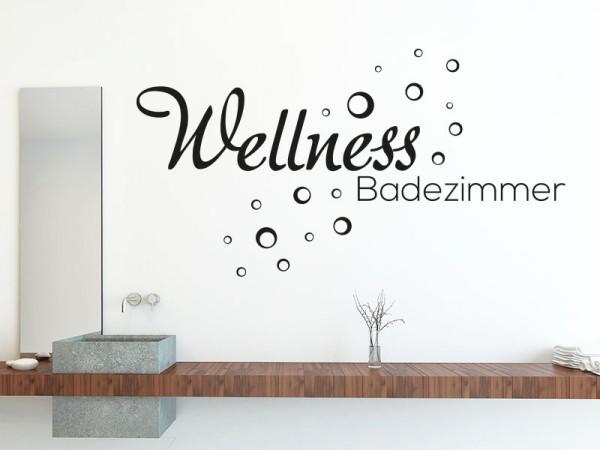 Wandtattoo Wellness Badezimmer von KLEBEHELD®