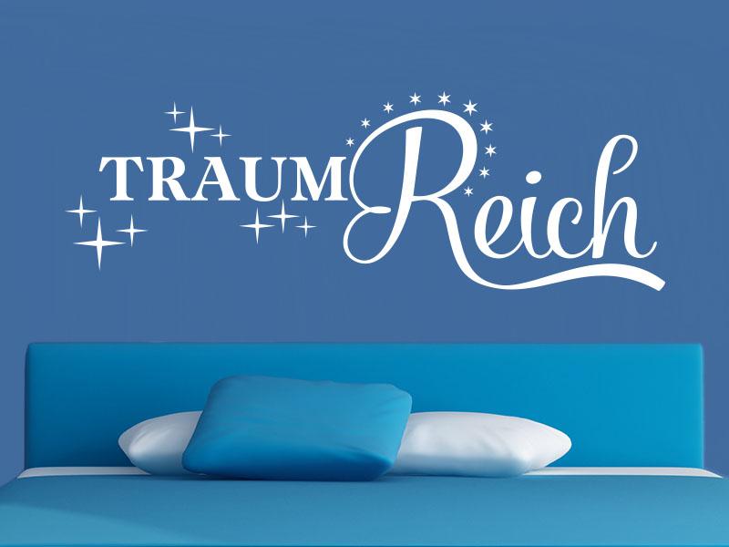 Wandtattoo Traum Reich