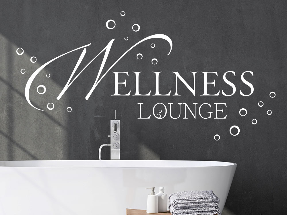 Moderne Wellness Lounge im Badezimmer