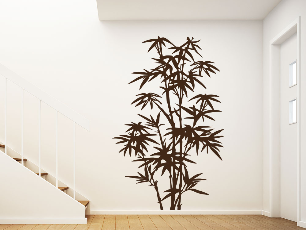 Wandtattoo Asia Bambus