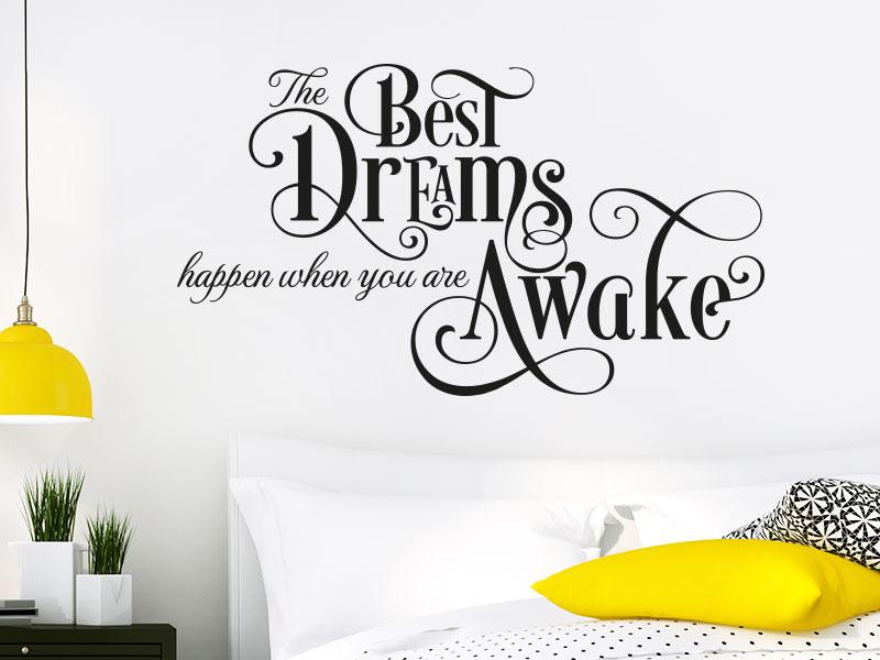 Wandtattoo The best dreams