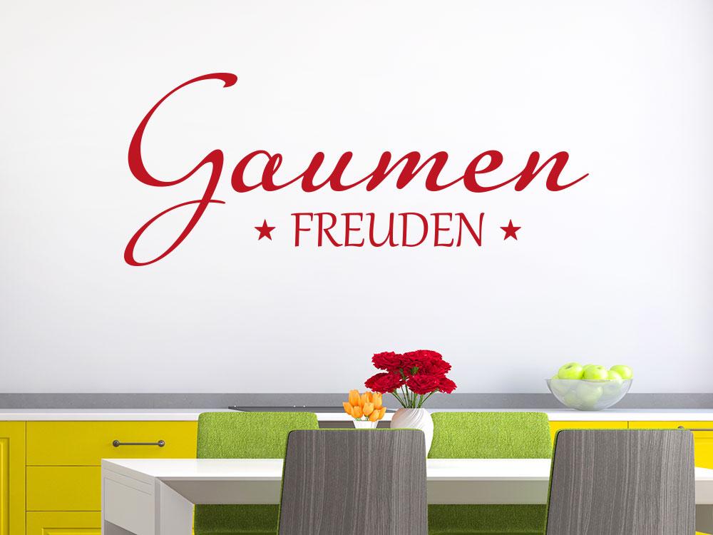 Wandtattoo Gaumenfreuden