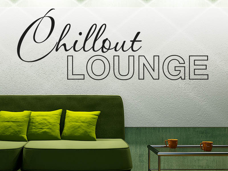 Wandtattoo Chillout Lounge