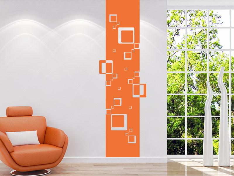 wandtattoo wandbanner mit ornamente ranken klebeheld. Black Bedroom Furniture Sets. Home Design Ideas