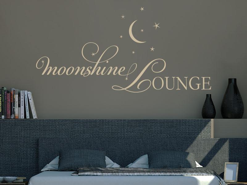 Wandtattoo moonshine Lounge