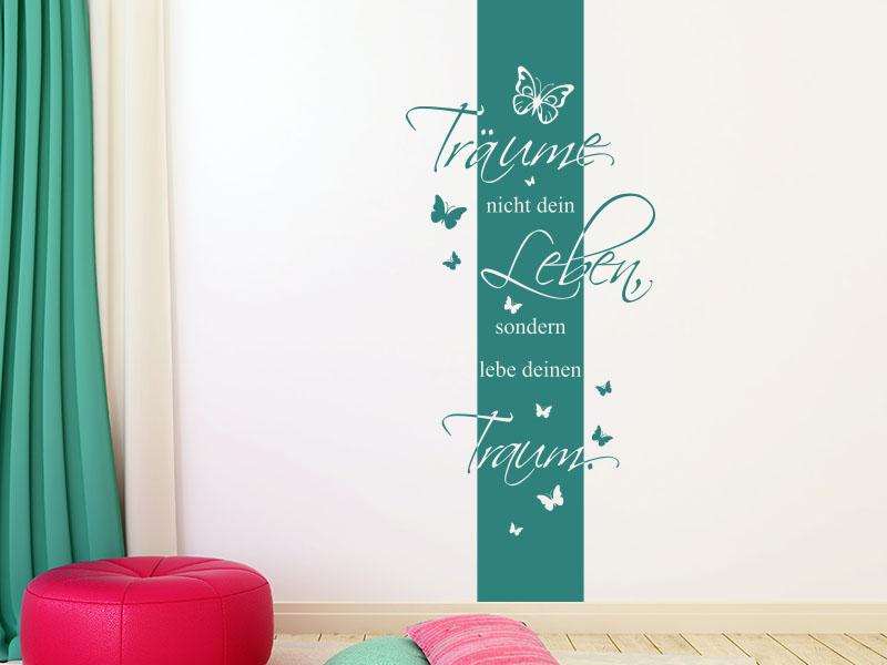 Wandtattoo Banner Dein Traum