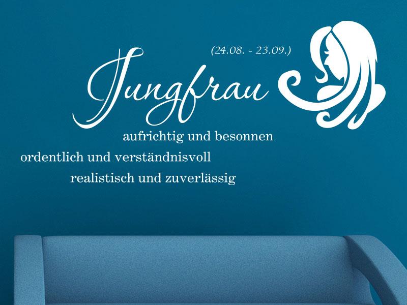 Wandtattoo Sternzeichen Jungfrau - No.2