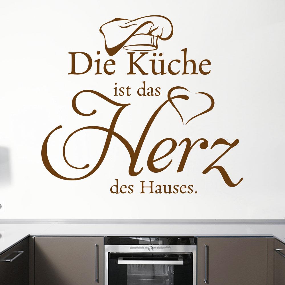 Gewaltig Küchen Wandtattoo Das Beste Von Die Küche Ist Das Herz Des Es.