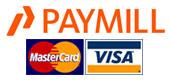wir akzeptieren Visa- und Mastercard