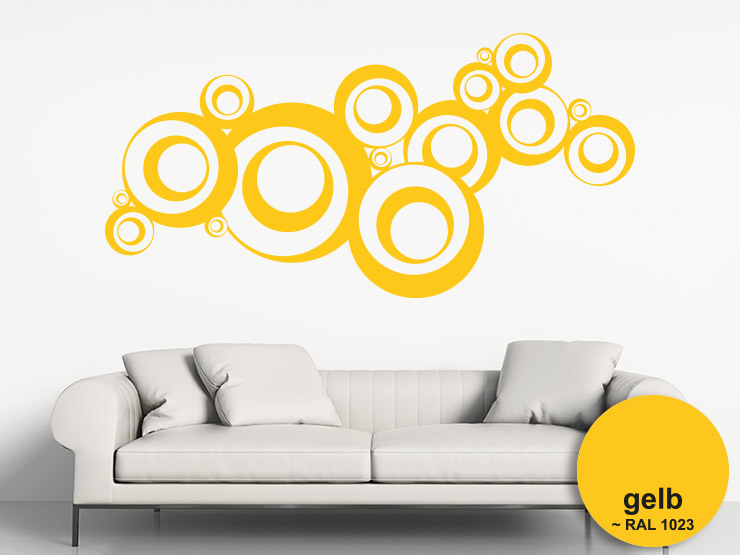 wandtattoo farben vs ral farben im farbvergleich. Black Bedroom Furniture Sets. Home Design Ideas