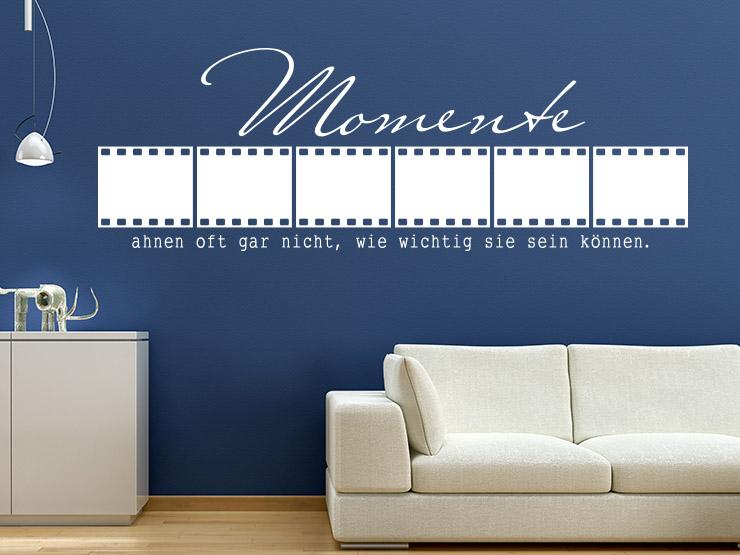 wandtattoo als fotorahmen anleitung zum anbringen und verkleben. Black Bedroom Furniture Sets. Home Design Ideas