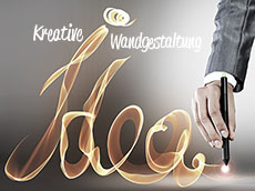 Kreative Wandgestaltung der Küche - Klebeheld.de