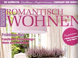 Romantisch Wohnen mit einem Wandtattoo von Klebeheld